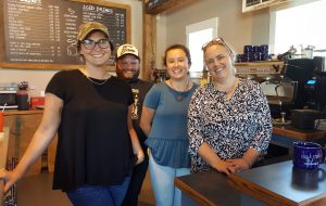 Cup and Crumb- Kimberly Prause and staff