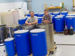 Production Room Ash & Matt 2